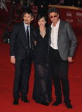 Ethan Hawke, Kristin Scott Thomas, Pawel Pawlikowski, Scott Thomas Stock Photo