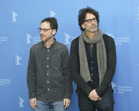 Ethan and Joel Coen attend the `Hail, Caesar!` Stock Photography