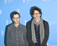 Ethan and Joel Coen attend the `Hail, Caesar!` Royalty Free Stock Photography