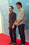 Ethan and Joel Coen Royalty Free Stock Images