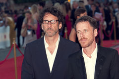 Ethan and Joel Coen Stock Photos