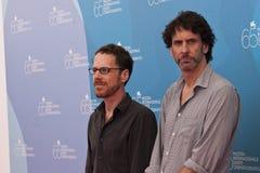 Ethan y Joel Coen foto de archivo
