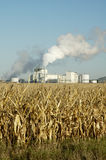 Ethanol 4. An ethanol production plant in South Dakota Stock Image