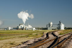 Ethanol 6. An ethanol production plant in South Dakota Stock Photos