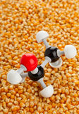 Ethanol from maize Royalty Free Stock Images