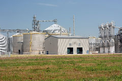 Ethanol Plant. View of ethanol plant in American midwest Stock Photos