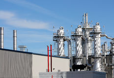 Ethanol Plant. Portion of ethanol plant in the midwest Royalty Free Stock Photo