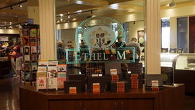 Ethel M Chocolates shop. The interior of Ethel M Chocolates shop Royalty Free Stock Image