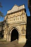 Ethelbert Gate na catedral de Norwich fotografia de stock royalty free