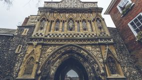 The Ethelbert Gate royalty free stock photography