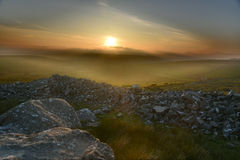 Ethereal ηλιοβασίλεμα Στοκ εικόνες με δικαίωμα ελεύθερης χρήσης
