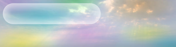 Ethereal Banner # 2 Royalty Free Stock Photo