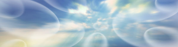 Ethereal Banner # 4 Stock Image