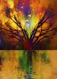 Ethereal Landscape Stock Image