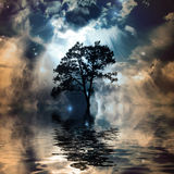Ethereal landscape Stock Photos