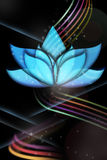 Ethereal Lotus For Flyers And More Royalty Free Stock Photo