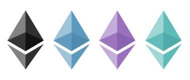 Ethereum加密概念 图库摄影