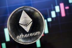 Ethereum современный путь обмена и этой секретной валюты Стоковые Изображения RF