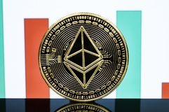 Ethereum classic is a modern way of exchange and this crypto currency stock images
