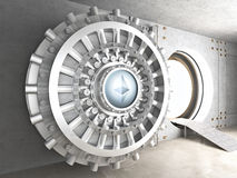 Ethereum cryoto vault Stock Photography