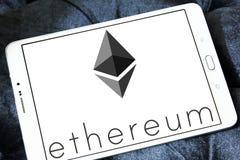 Ethereum-cryptocurrency Logo Stockbild