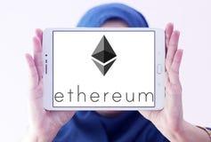 Ethereum-cryptocurrency Logo Lizenzfreies Stockfoto