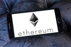 Ethereum-cryptocurrency Logo Stockfotografie