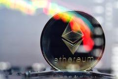 Ethereum Moeda cripto Fotografia de Stock