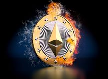 Ethereum Royalty Free Stock Images