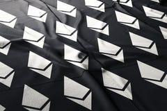 Ethereum ETH flag cloth illustration crypto royalty free stock photos