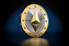 Ethereum - Virtual Money Stock Images