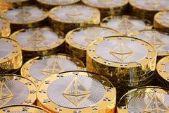 Ethereum - virtuelles Geld Stockfotografie