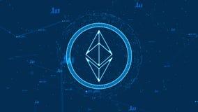 Ethereum-Währung Lizenzfreie Stockfotografie