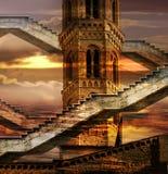 Etherische torens Royalty-vrije Stock Foto's