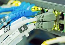 Ethernetów kable Zdjęcia Stock