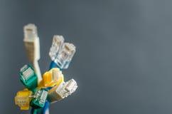 Ethernetów kable Obraz Royalty Free