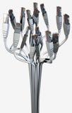 Ethernet-abstrakter Blumenstrauß Lizenzfreie Stockfotografie