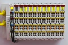 Ethernet-baserat fieldbussystem royaltyfri fotografi