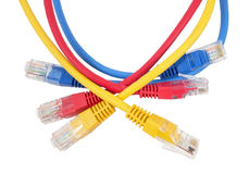 Ethernet Cabl della rete Immagini Stock Libere da Diritti