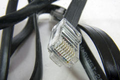 Ethernet cable. And a RJ45 or a 8P8C connector royalty free stock images