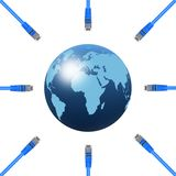 Ethernet Cable Royalty Free Stock Images