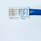 Ethernet cable. Close up of Ethernet cable Royalty Free Stock Photography