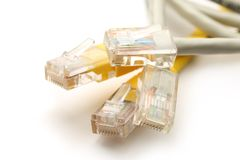 Ethernet cable Royalty Free Stock Image