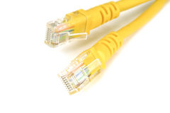 The ethernet cables Royalty Free Stock Photography