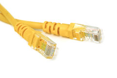 the ethernet cables Stock Photos