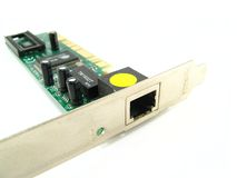 Ethernet card Royalty Free Stock Images