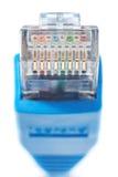 Ethernet del LAN del conector Imagenes de archivo