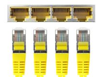 Ethernet-Kabel lizenzfreie stockfotos
