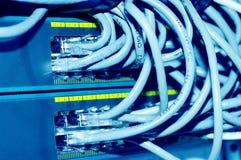 Ethernet-Nabe lizenzfreie stockbilder