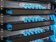 Ethernet-Netzwerk Schalter Lizenzfreies Stockfoto
